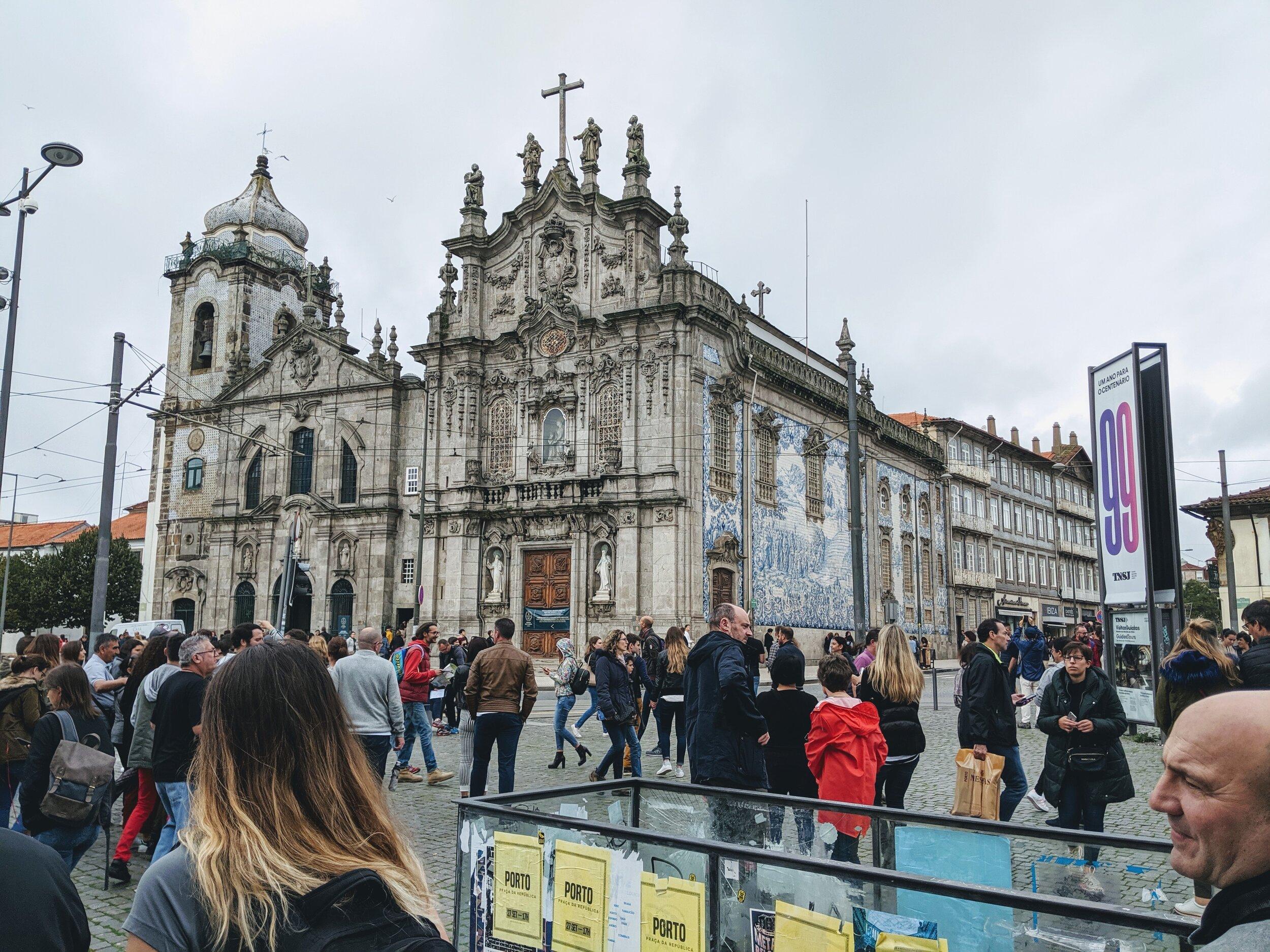 Igreja do Carmo y Carmelitas, Porto