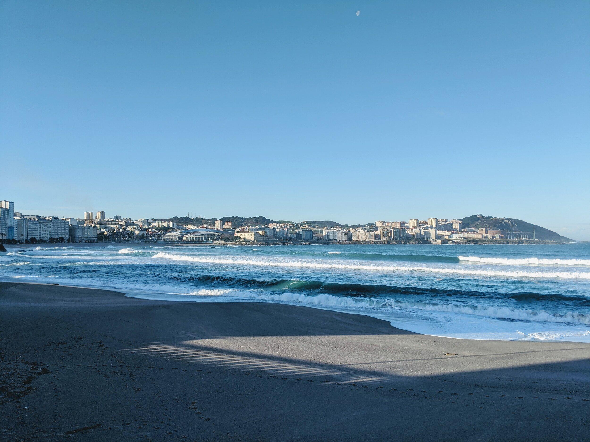 Playa del Orzán, A Coruña