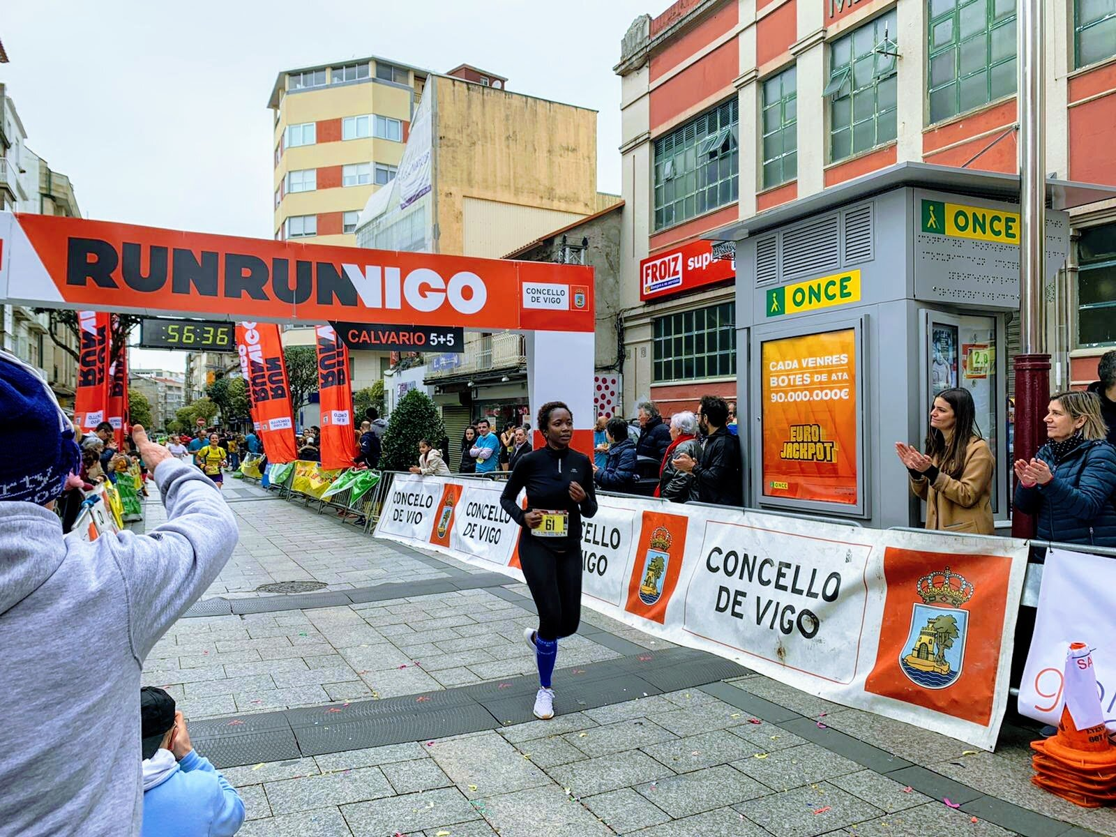 Calvario 5+5 - RunRunVigo race in February