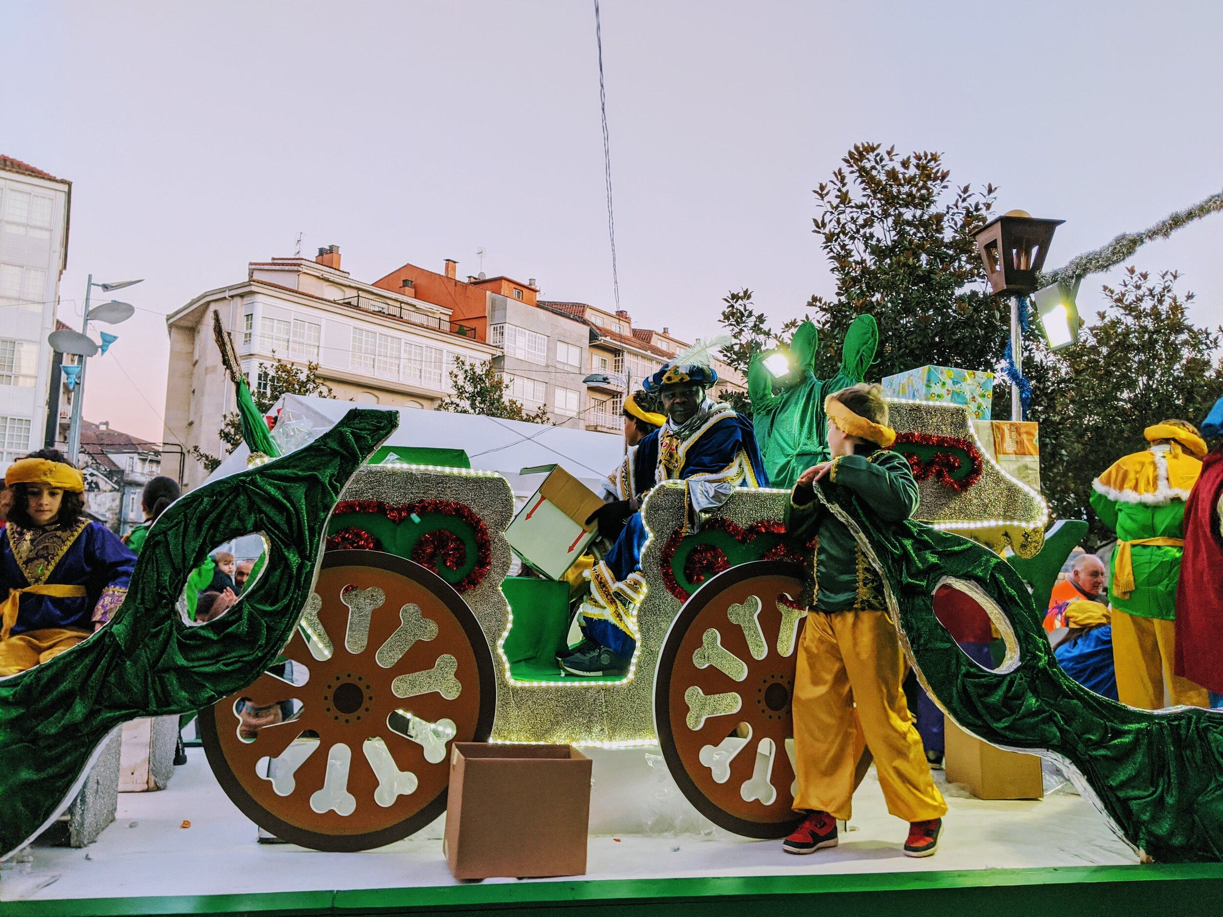 Cabalgata de Reyes Magos, Ponteareas