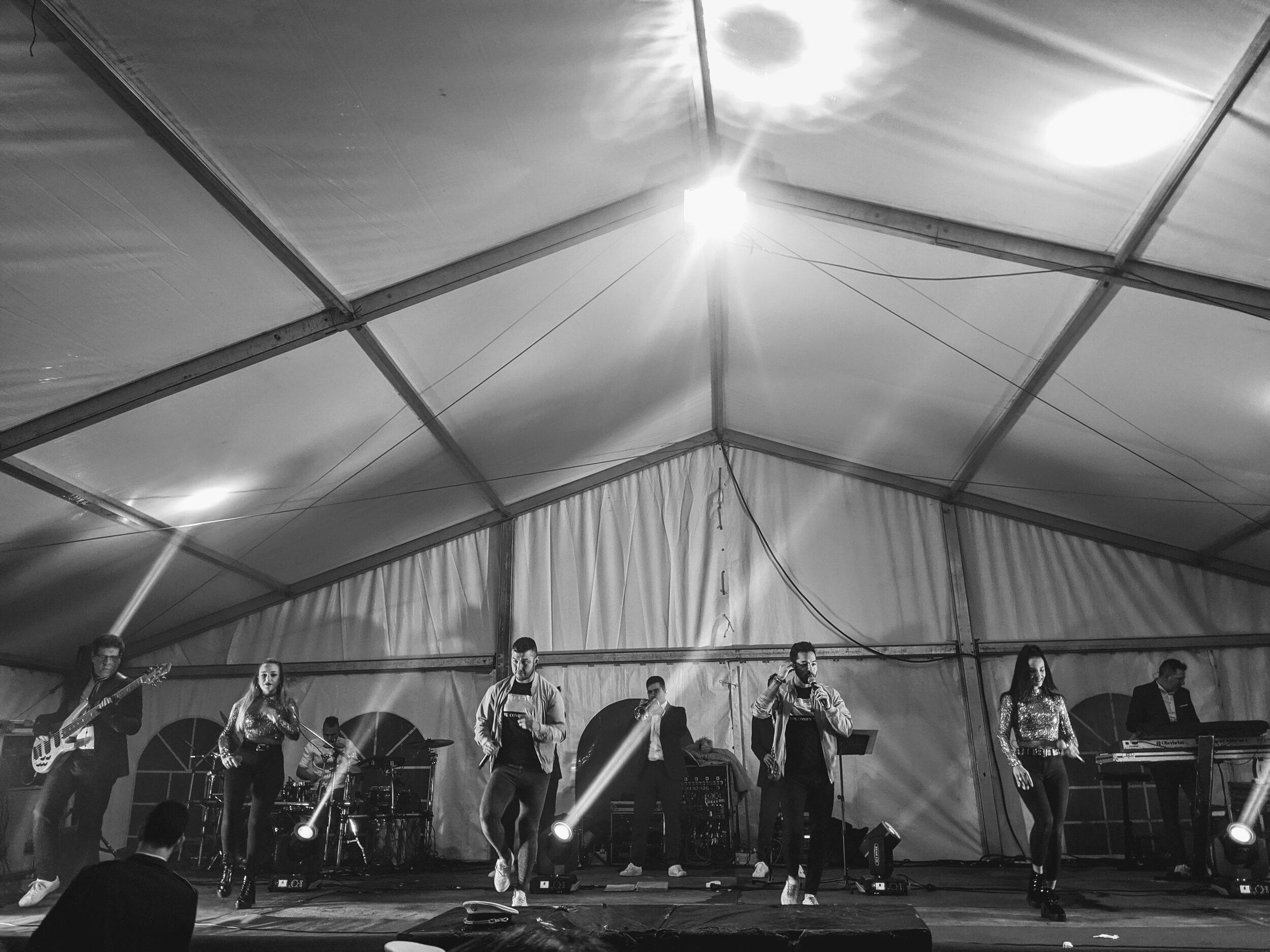 Concert in Gulans, Ponteareas